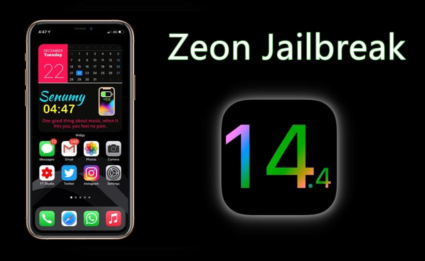iOS 14.4 Zeon Jailbreak