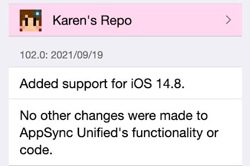 Updated iOS 14.8